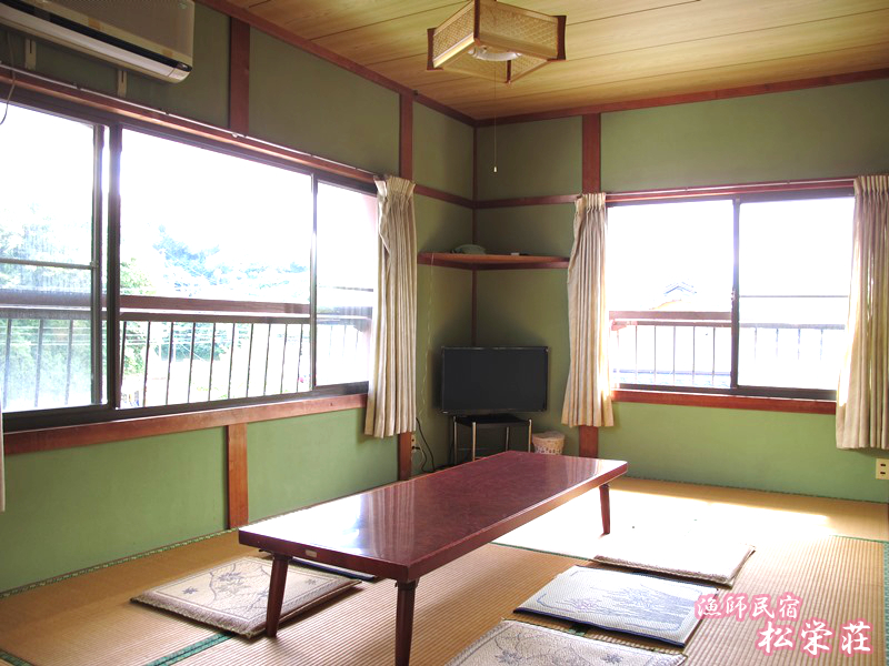 漁師民宿松栄荘の室内