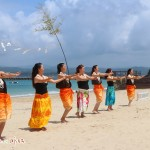 御座白浜海水浴場海開き式が開催されました。